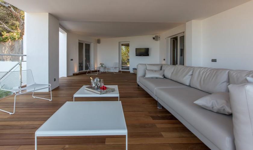 Loungebereich Ferienvilla Ibiza 12 Personen IBZ 30