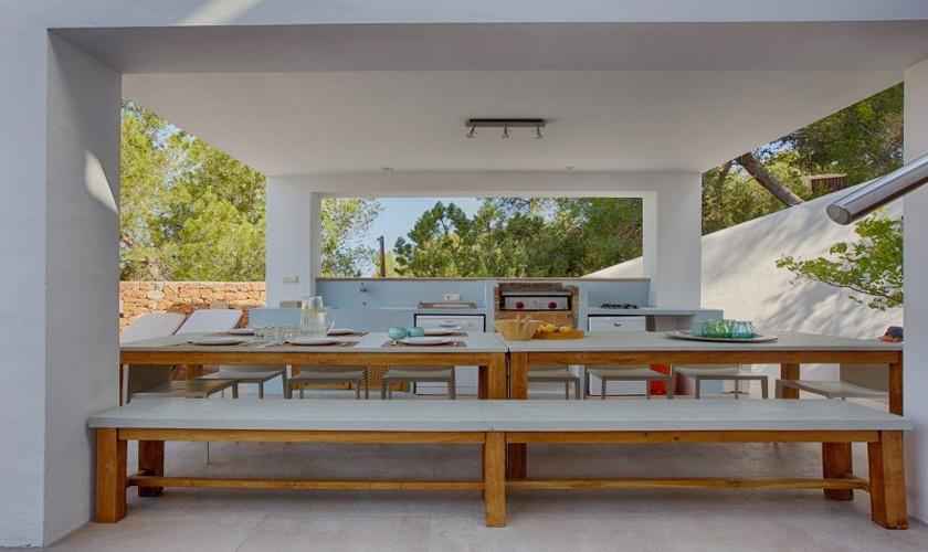 Terrasse Ferienvilla Ibiza 12 Personen IBZ 30