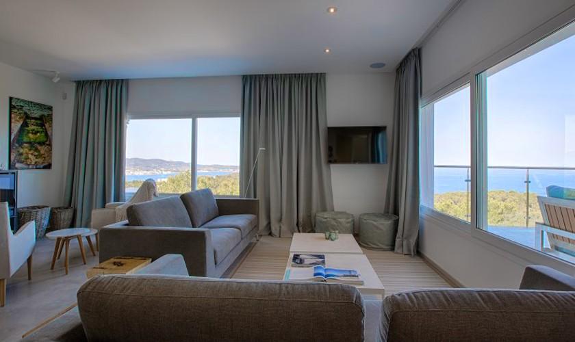 Wohnraum Ferienvilla Ibiza 12 Personen IBZ 30
