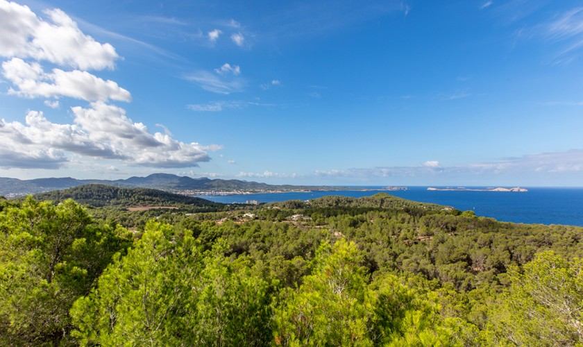Meerblick vom Ferienhaus Ibiza IBZ 31