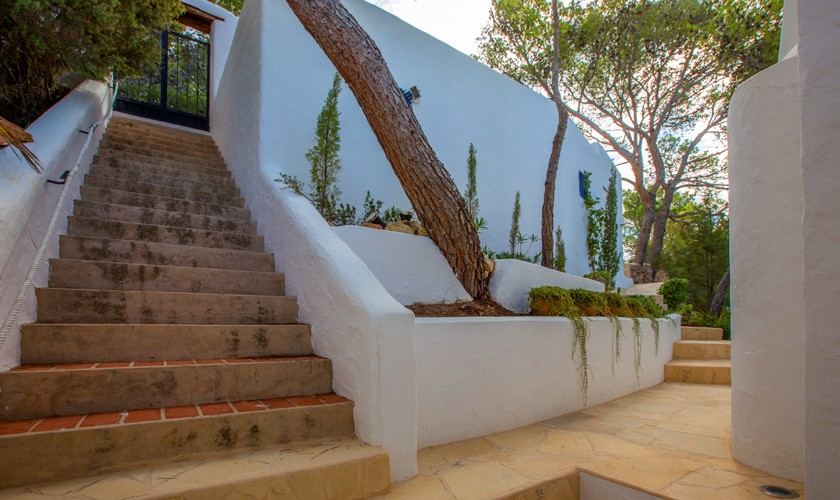 Treppe Ferienvilla Ibiza Meerblick IBZ 31