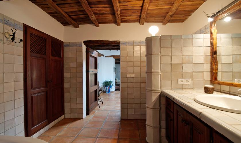 Badezimmer Ferienfinca Ibiza IBZ 35