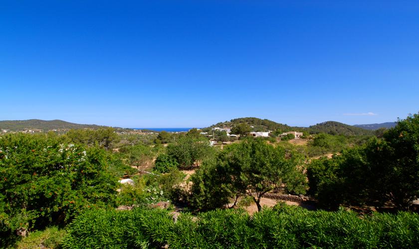 Blick von der Finca Ibiza IBZ 35