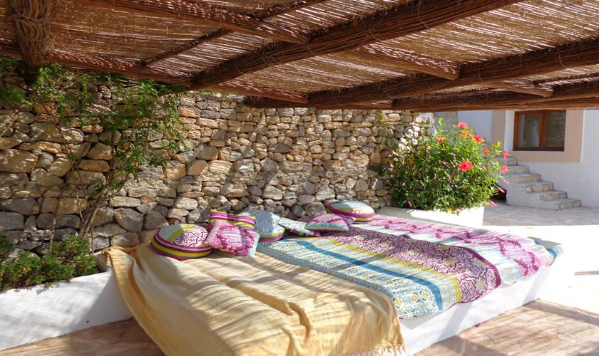Terrasse Ferienvilla  Ibiza für 6 Personen IBZ 45