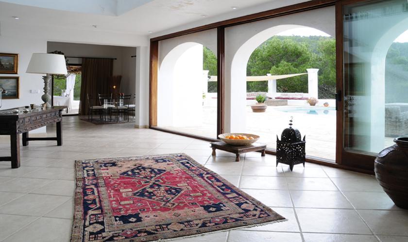 Entrada Villa  Ibiza für 6 Personen IBZ 45