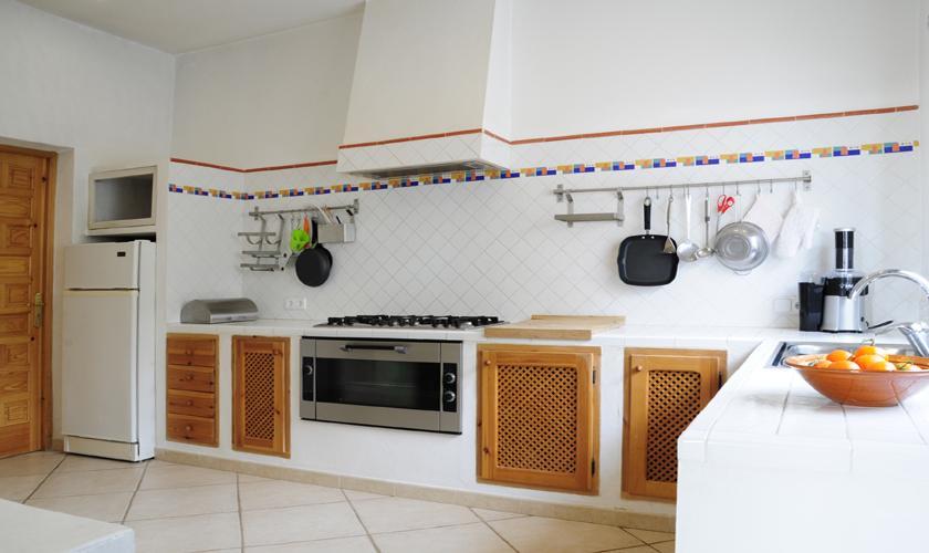 Küche Ferienvilla  Ibiza für 6 Personen IBZ 45