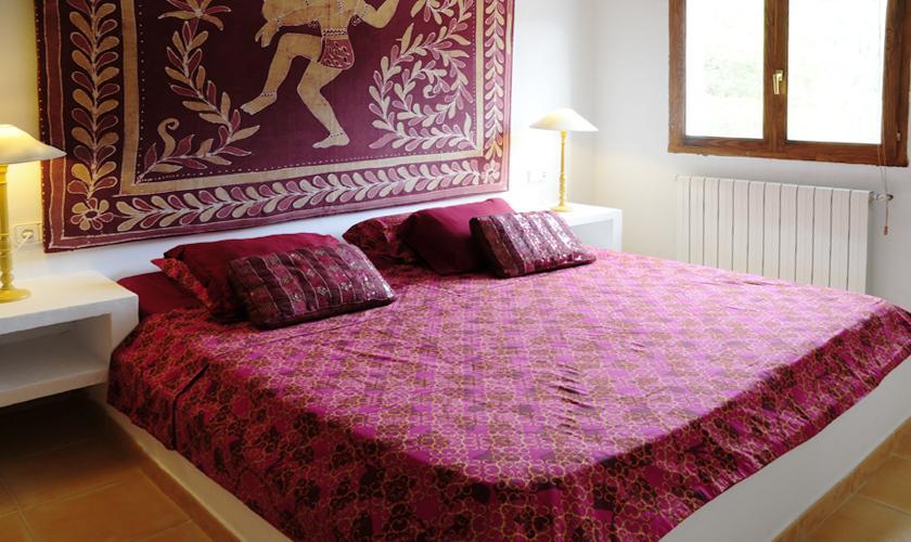 Schlafzimmer Ferienvilla  Ibiza für 6 Personen IBZ 45