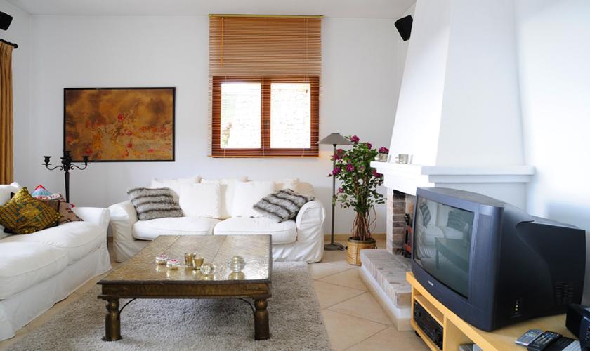 Wohnraum Villa  Ibiza für 6 Personen IBZ 45