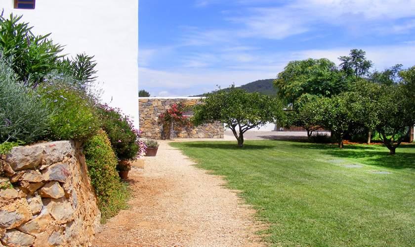 Garten Ferienfinca Ibiza 10 Personen IBZ 46