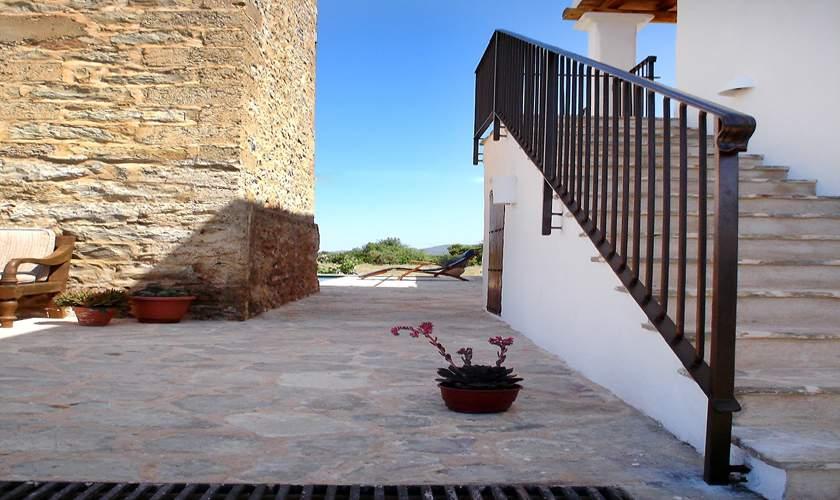 Treppe Ferienfinca Ibiza 10 Personen IBZ 46