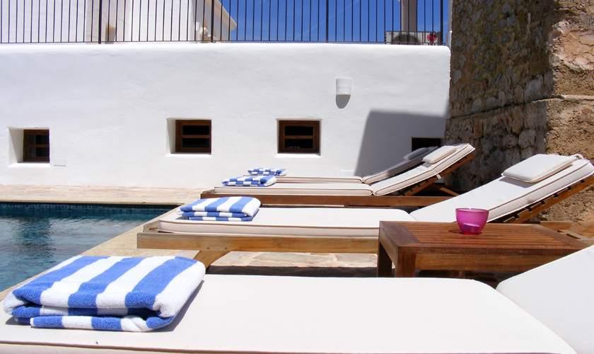 Poolterrasse Finca Ibiza 10 Personen IBZ 46