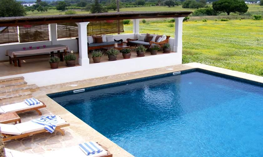 Pool und Terrasse Finca Ibiza IBZ 46