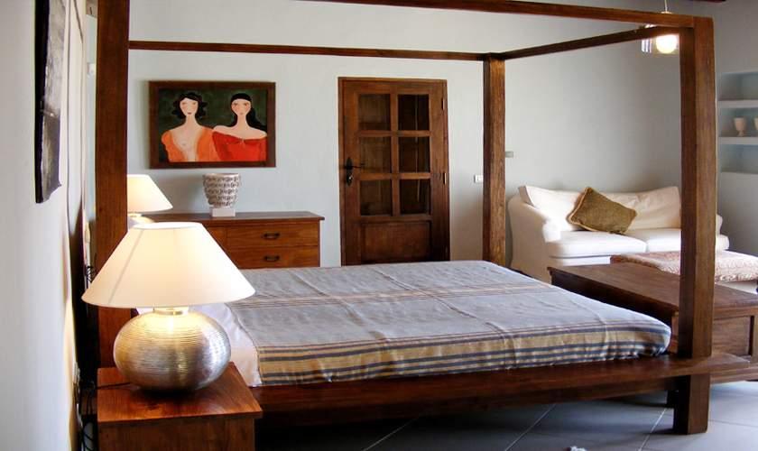 Schlafzimmer Ferienfinca Ibiza 10 Personen IBZ 46