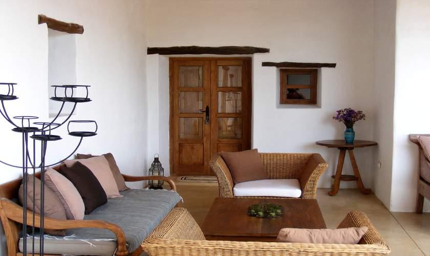 Terrasse Finca Ibiza 10 Personen IBZ 46