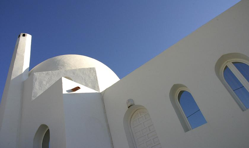 Blick auf die Ferienvilla Ibiza Meerblick IBZ 50