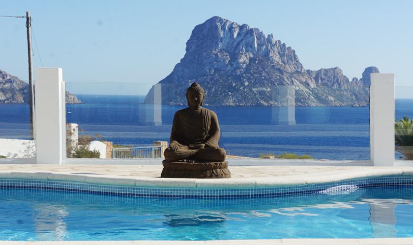 Meerblick und Pool Villa Ibiza IBZ 50