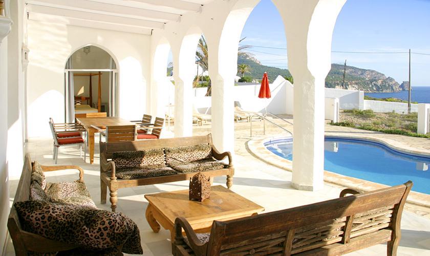 Terrasse Villa Ibiza IBZ 50