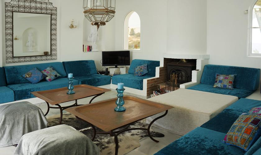 Wohnraum Ferienvilla Ibiza IBZ 50