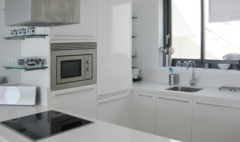 Küche Villa Ibiza mit Meerblick IBZ 52