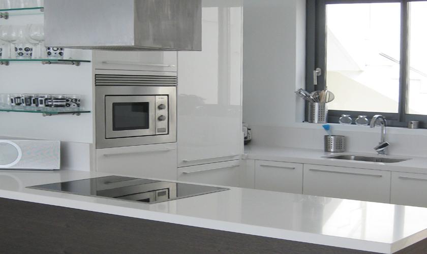 Küche Villa Ibiza mit Meerblick und Pool IBZ 52