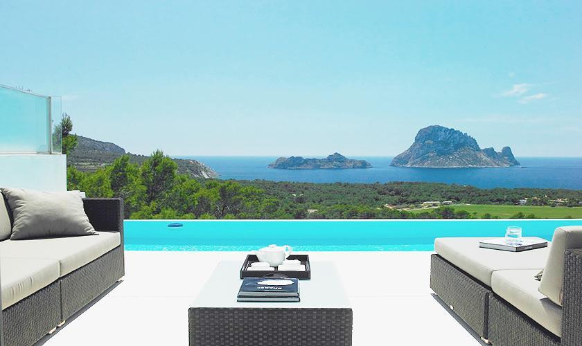 Pool und Meerblick Villa Ibiza IBZ 52