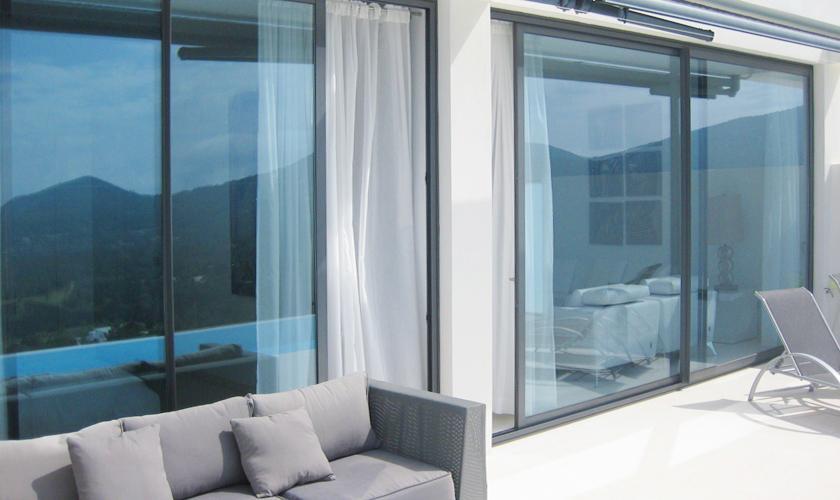 Terrasse Villa Ibiza mit Meerblick IBZ 52