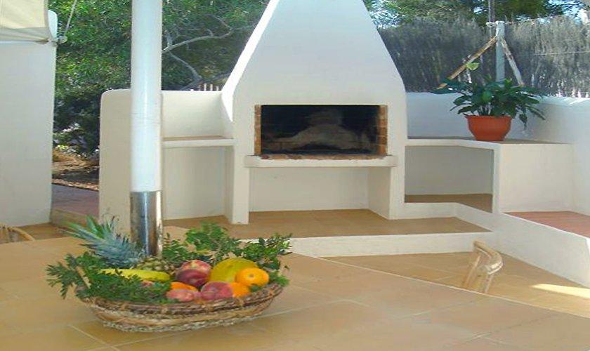 Grillplatz Ferienhaus Ibiza für 6 Personen IBZ 55
