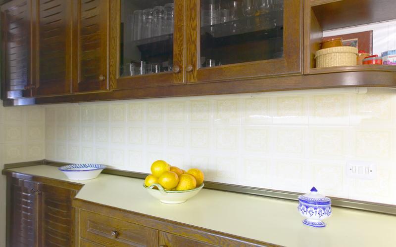 Küche Ferienhaus Ibiza Meerblick IBZ 55