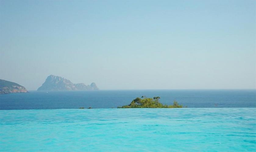 Meerblick Ferienhaus Ibiza für 6 Personen IBZ 55