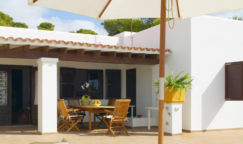 Terrasse Ferienhaus Ibiza für 6 Personen IBZ 55