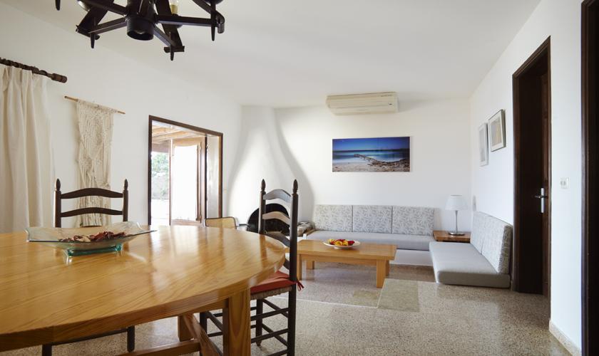 Wohnraum Ferienhaus Ibiza für 6 Personen IBZ 55