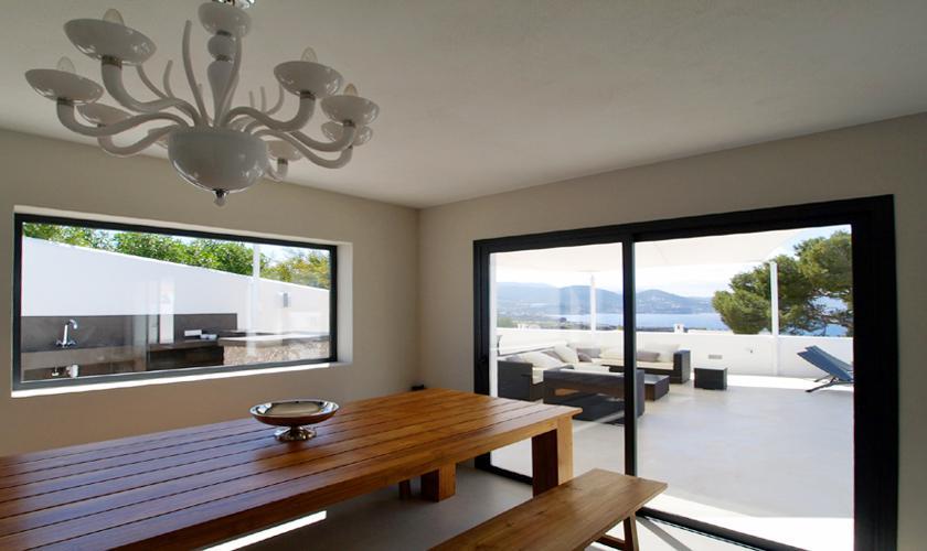 Essplatz Villa Ibiza 12 Personen IBZ 58
