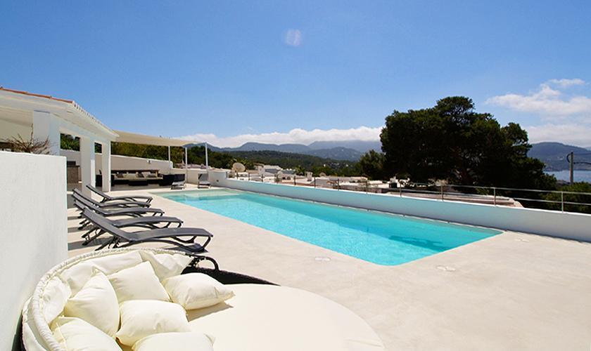 Pool und Terrasse Villa Ibiza 12 Personen IBZ 58