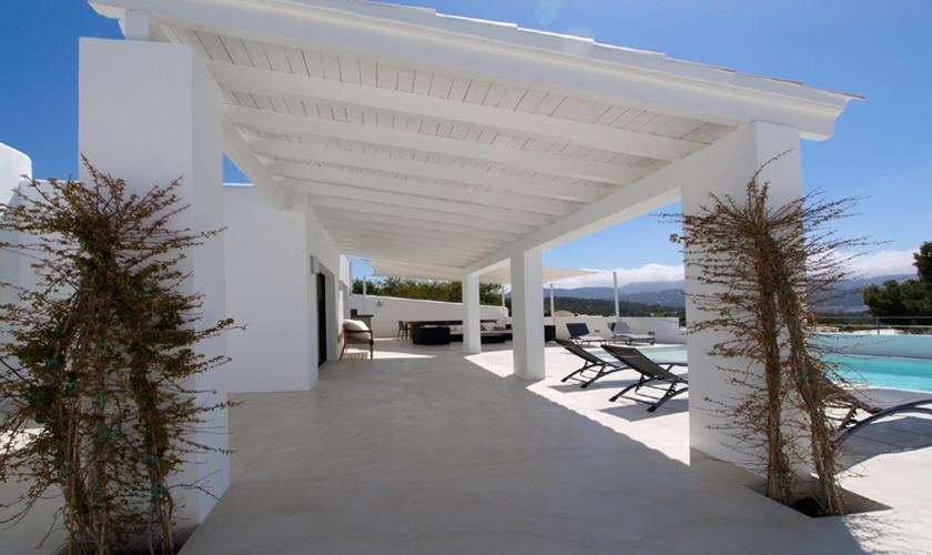 Terrasse Ferienvilla Ibiza 12 Personen IBZ 58