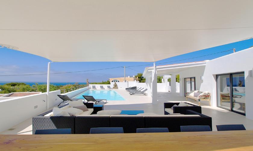 Terrasse Villa Ibiza 12 Personen IBZ 58
