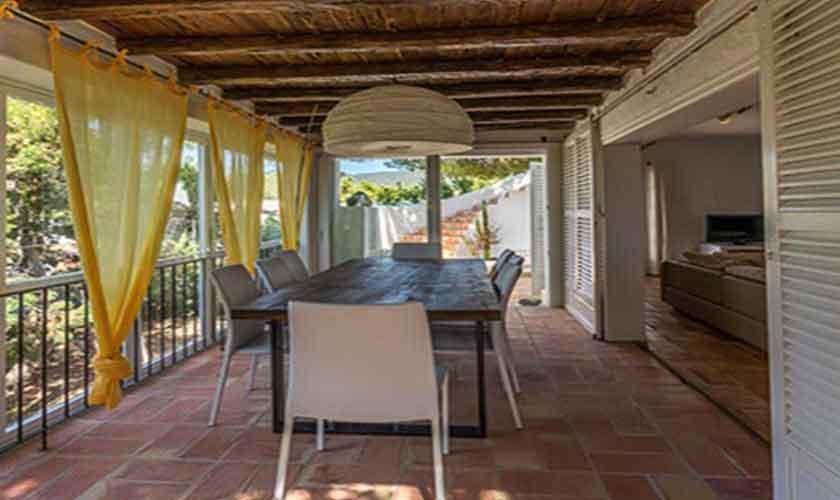 Terrasse Finca Ibiza 10 Personen Ibz 61