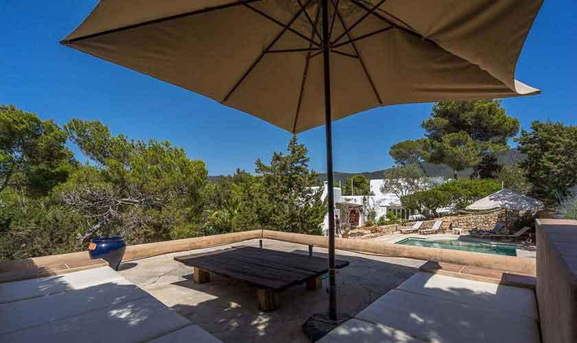 Terrassen Finca Ibiza 10 Personen Ibz 61