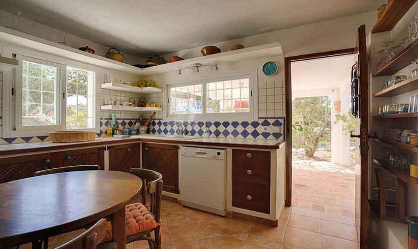 Küche Ferienvilla Ibiza 10 Personen Ibz 61