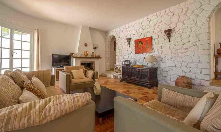 Wohnraum Finca Ibiza 10 Personen Ibz 61