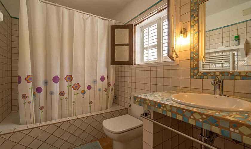 Badezimmer Finca Ibiza 10 Personen Ibz 61