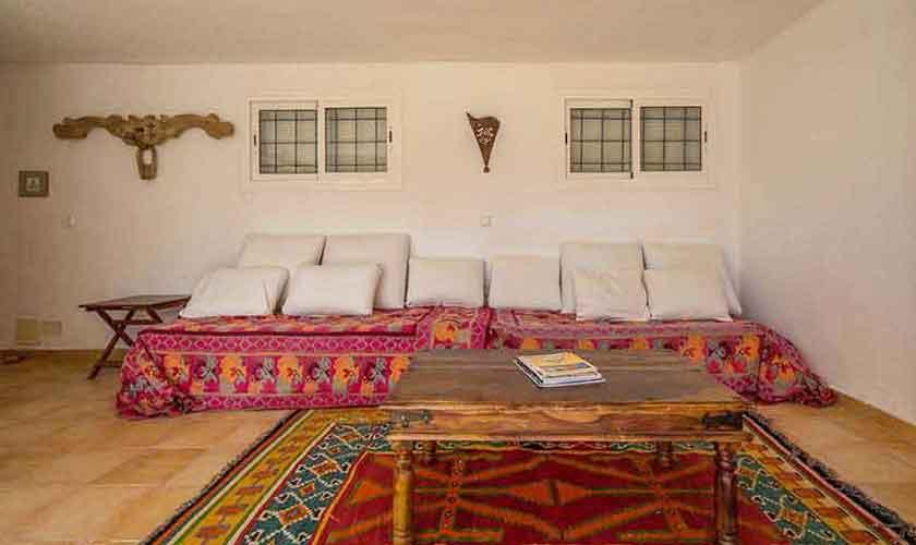 Wohnraum Ferienvilla Ibiza 10 Personen Ibz 61