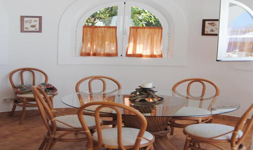 Esszimmer Ferienvilla Ibiza IBZ 63