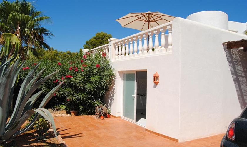 Blick auf das Ferienhaus Ibiza IBZ 63