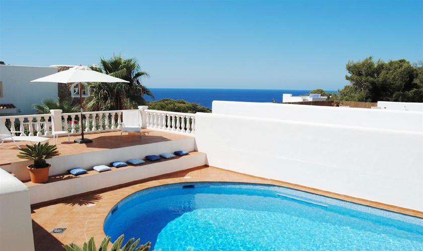 Pool und Meerblick Villa Ibiza IBZ 63