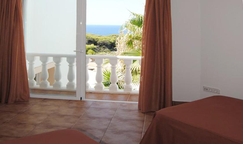 Obere Terrasse Ferienhaus Ibiza IBZ 63