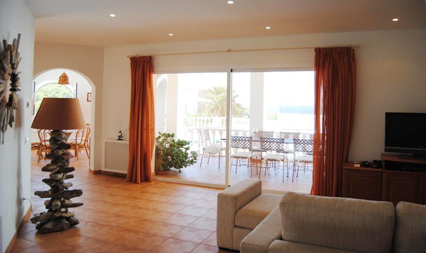 Wohnraum Ferienvilla Ibiza IBZ 63