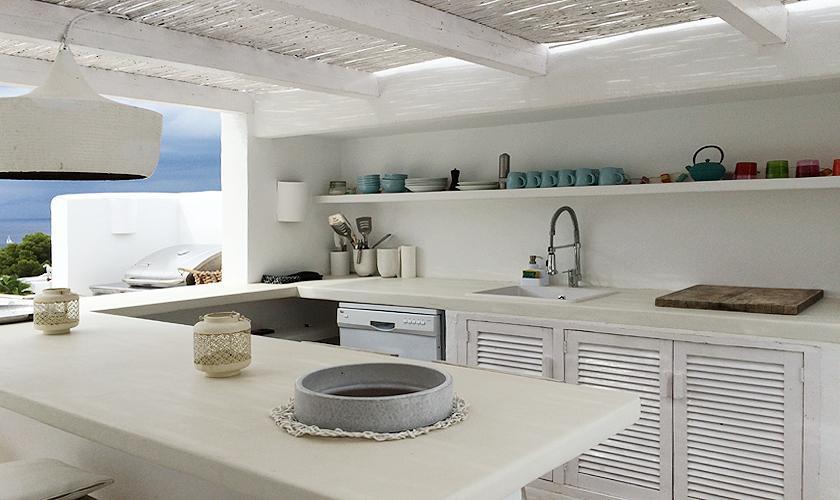 Außenküche Villa Ibiza 6 Personen IBZ 65