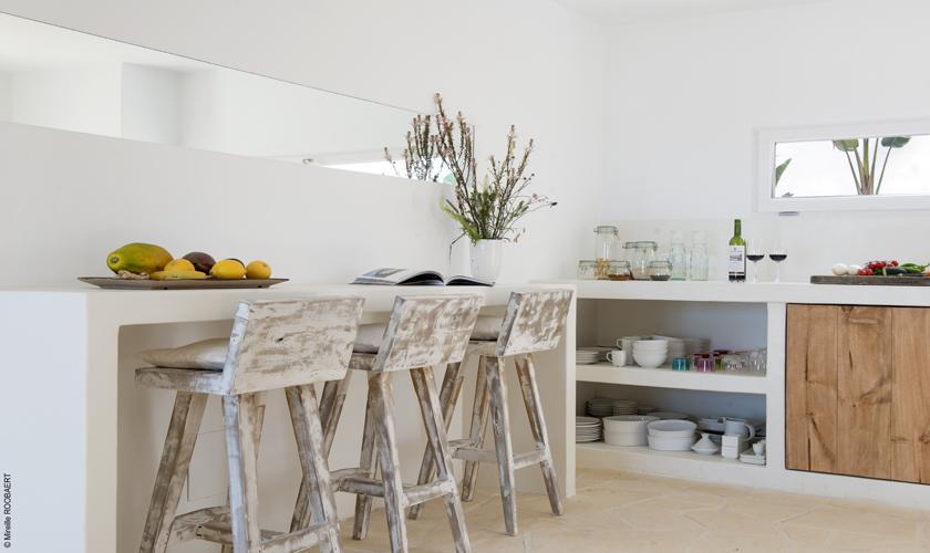 Küche Villa Ibiza Meerblick IBZ 65