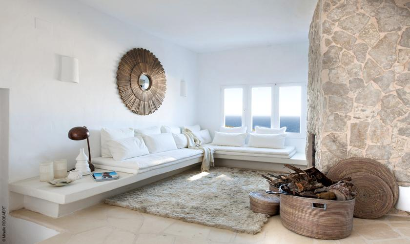 Wohnraum Villa Ibiza Meerblick IBZ 65