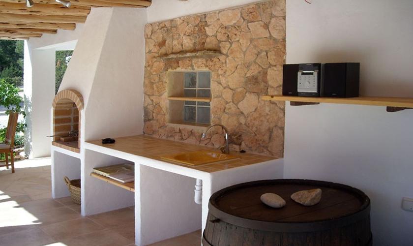 Außenküche Ferienhaus Ibiza IBZ 66